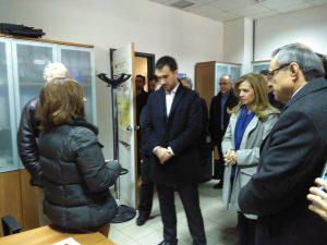 Επίσκεψη Αν. Υπουργού κ. Χαρίτση στον ΦΔ