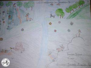 Μια ζωγραφιά για το Εθνικό Πάρκο - Ζωγραφιές Μαθητών