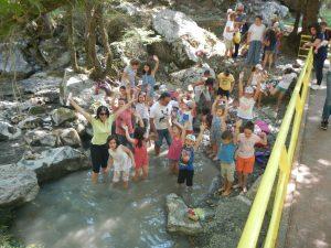 Από την επίσκεψη μας στο Ρέμα Λεπτοκαρυάς Βουργαρελίου